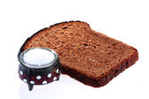 Bread and salt — Stock Photo