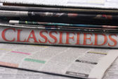 Classifieds — Stock fotografie