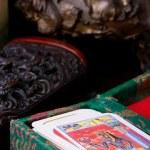 Cards tarot — Stock Photo
