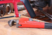Adjustable spanner — Stock Photo
