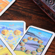 Stock Photo: Cards tarot