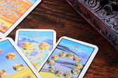 Cards tarot — Stock Photo