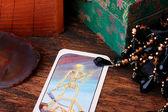 Card tarot — Stock Photo