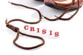 Financial crisis — Stock Photo
