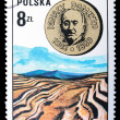Poland - CIRCA 1973: A stamp — Stock Photo