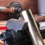 Metalwork vice — Stock Photo #3513074