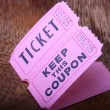 Stock Photo: Tickets and coupon
