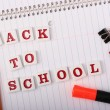 Stock Photo: Back to School