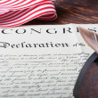 Stock Photo: Declaration