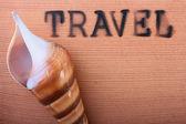 Hot stamping Travel — Stock Photo