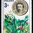 Poland - CIRCA 1973: A stamp Edvard Strasburger - Stock Photo