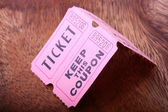 Tickets and coupon — Stock Photo