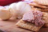 Wheat crackers — Stock Photo
