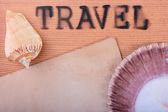 Hot stamping Travel — Stock Photo