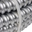 Cable protection conduit — Stock Photo