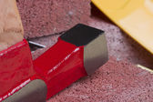 Stonemason's hammer — Stock Photo