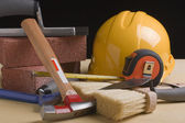 Worker's tools — Stock Photo