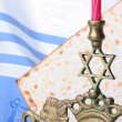 Jewish symbols — Stock Photo #3783617