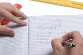 Mathematician — Stock Photo