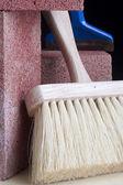 Stonemason's brush — Stock Photo