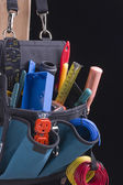 Electrician's bag — Stock Photo