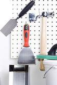 Plastering tools — Stock Photo