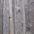 Weathered gray wooden boards background — Stock Photo