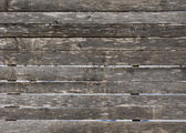 Old rough wooden fence background — Fotografia Stock