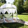 Stock Photo: Wedding tent