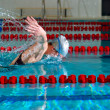Butterfly stroke — Stock Photo #3203362