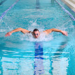 Butterfly stroke — Stock Photo