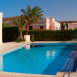 Swimming pool near the house in el-gouna, egypt — Stock Photo #3203605