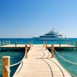 Tropical pier — Stock Photo
