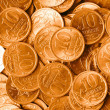 Golden coins — Stock Photo #3203740