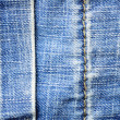 Jeans texture — Stock Photo