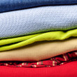 Stack of men's clothing — Stock Photo