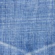 Highly detailed blue jeans texture — Foto de Stock