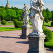 Sculptures in Peterhof, Saint-Petersburg — Stock Photo