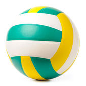 Volleyball ball isolated on white — Stock Photo