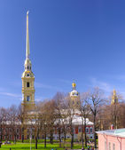 Peter and Paul Cathedral at sunny weather in Sai — Stock Photo
