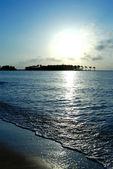 Sunrise sea coast — Стоковое фото