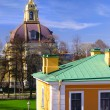 Peter and Paul Cathedral at sunny weather in Saint-Petersburg, R — Stock Photo