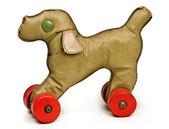 Vintage toy dog — Stock Photo