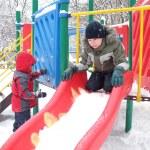 Childs on playground — Stock Photo #3035335