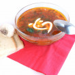 Ukrainian-russian borscht — Stock Photo #2864084