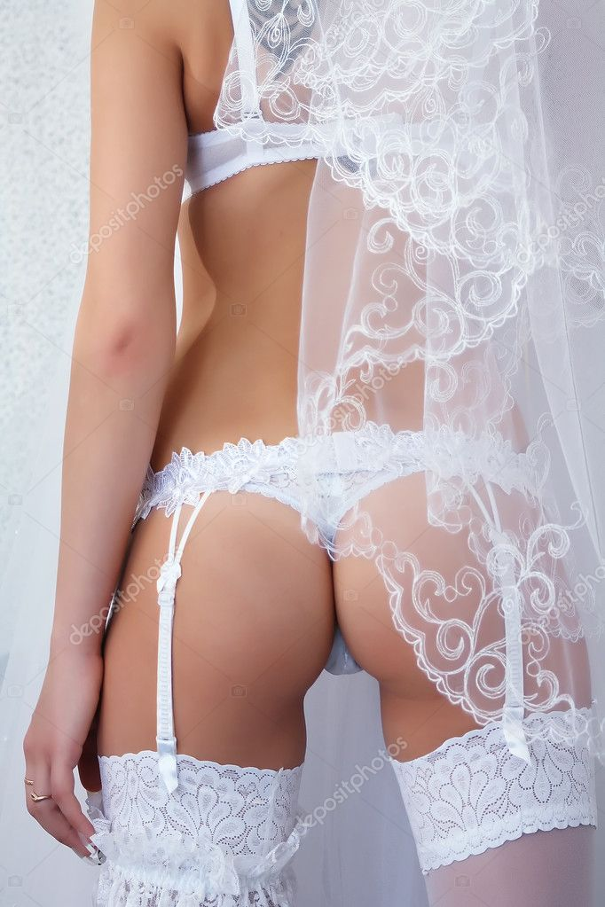 Bridal Lingerie in high key  Stock Photo #2882724