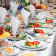 Food at wedding or catering event — Stock Photo #2896613