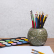 Tools for drawing - Foto Stock