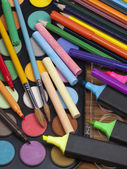 Different objects for drawing — Stock Photo