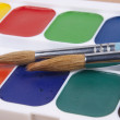 Set of watercolors — Stock Photo